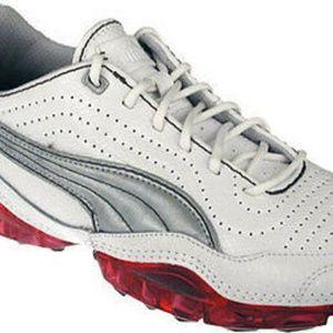 Puma Women's Cell Meio Sneaker White Leather 10W